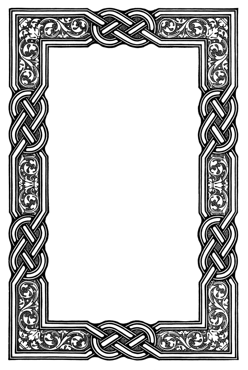 Celtic Knot Page Border An aspiring witch quicklyOval Celtic Knot Border
