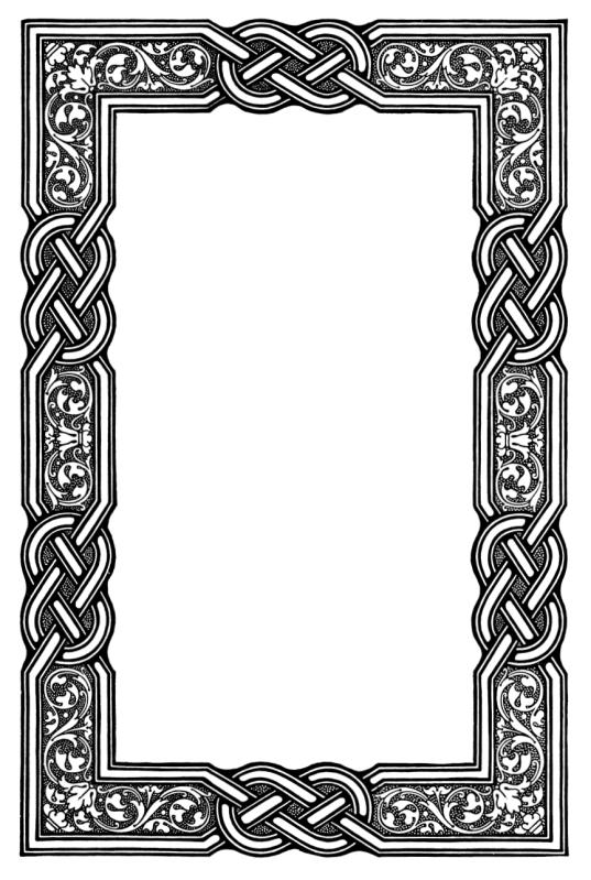celtic knot border hecatedemeter