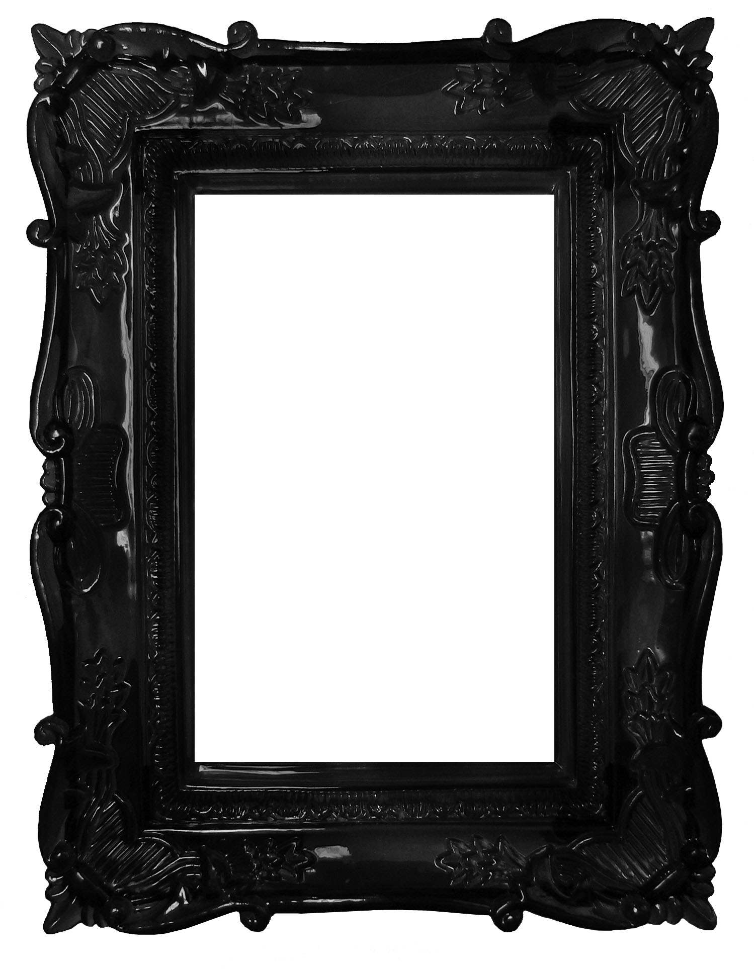 Black frame by darkrose42 stock hecatedemeter for Large a frame