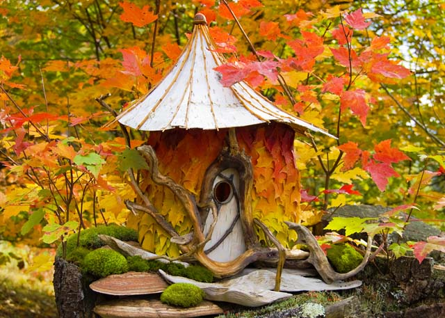 autumn fairy house hecatedemeter