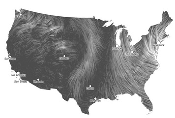 Winds During Hurricane Sandy