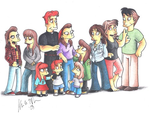 The_Simpsons__Extended_Family_by_The_Purple_Airedale