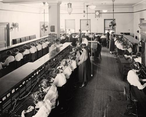 Switchboard-Telephone-Operators