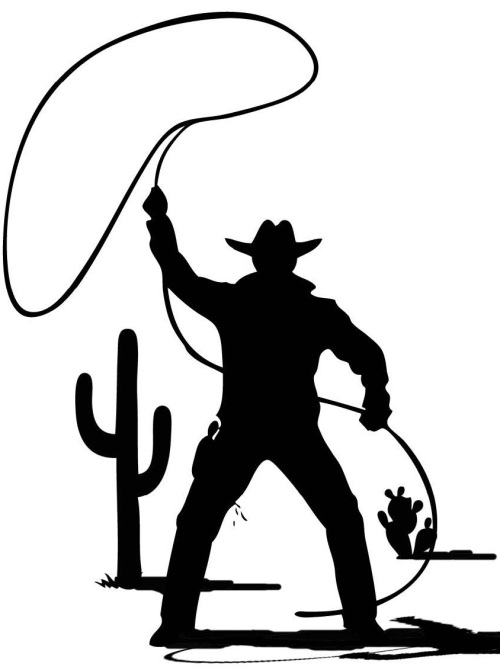 cowboy-with-lasso-clipart-free-images