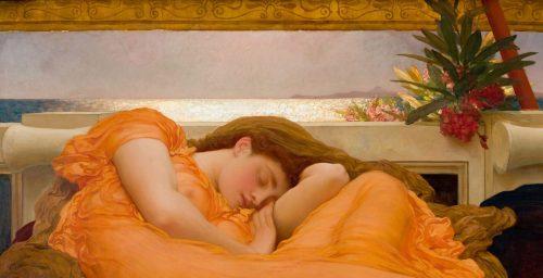 Frederic-Leighton-Flaming-June-ca-1895-Museo-de-Arte-de-Ponce1